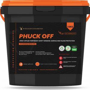 Phuck Off Orange - high vis safety paint