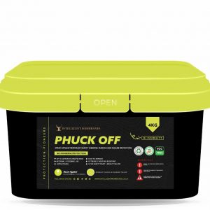 Phuck Off Yellow Brush - a temporary surface protection film