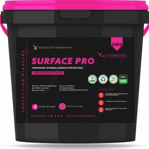 Surface Pro - Peelable, spray-applied temporary protective coating for a wide range of surfaces