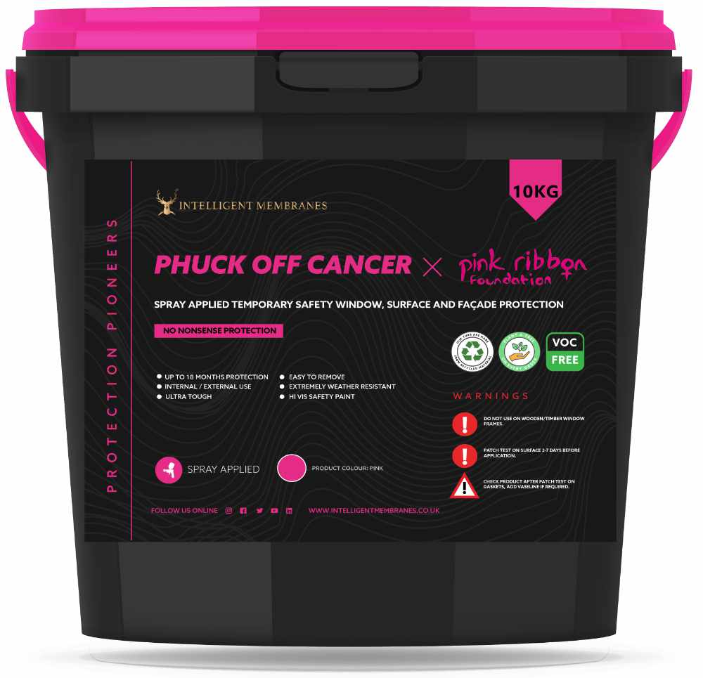 Phuck Off Cancer Spray - temporary surface protection film